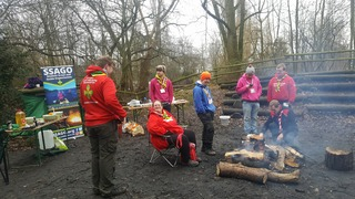 Toasty at Gilwell Wintercamp